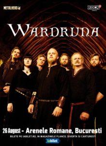 Wardruna canta pe 26 August 2020 la Arenele Romane