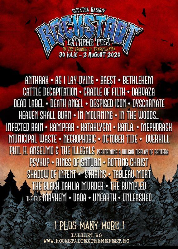 Rockstadt Extreme Fest 2020 Rasnov