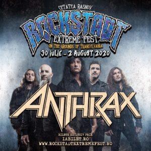 Anthrax, una dintre legendele thrash metal-ului, a fost confirmat pentru editia de anul viitor a Rockstadt Extreme Fest!