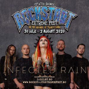 Infected Rain pe scena Rockstadt Extreme Fest 2020!
