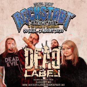 Dead Label vor fi prezenti la Rockstadt Extreme Fest 2020