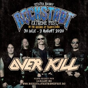 Thrash metal american la Rockstadt Extreme Fest 2020: Overkill!