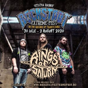 Rings of Saturn la Rockstadt Extreme Fest 2020!