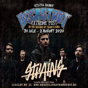 O noua confirmare la Rockstadt Extreme Fest 2020: Strains