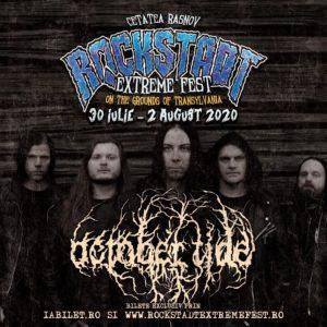 Doom / death suedez cu October Tide la Rockstadt Extreme Fest 2020