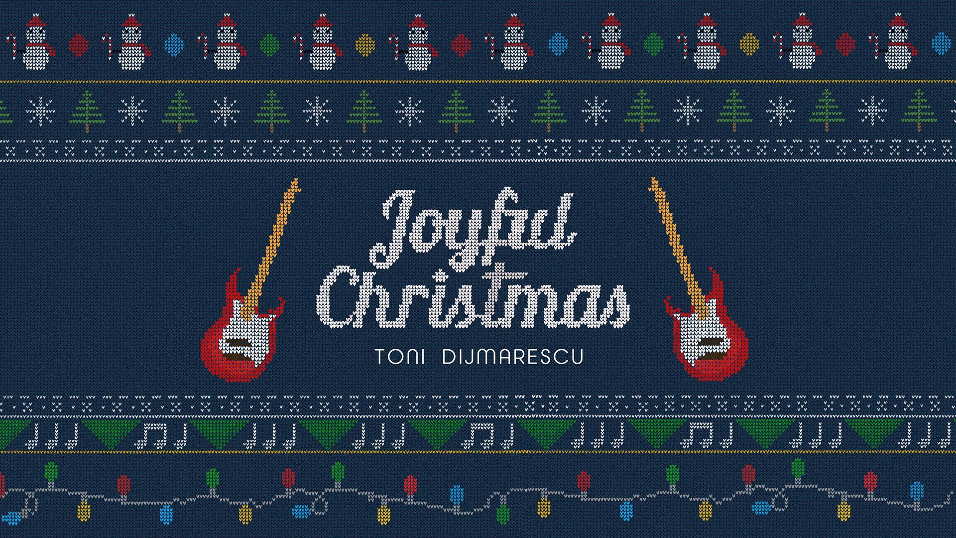 """TONI DIJMARESCU lanseaza single-ul """"Joyful Christmas"""", o melodie speciala de Craciun"""