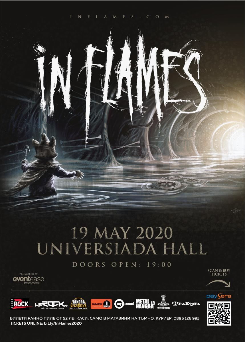 In Flames Sofia 19 mai 2020