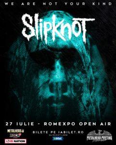 Slipknot canta in premiera in Romania la Metalhead Meeting