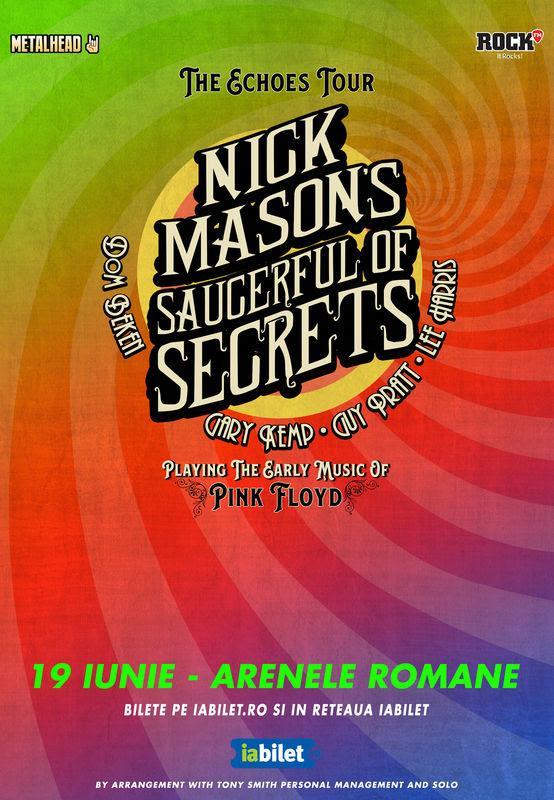 Nick Mason Pink Floyd Arenele Romane