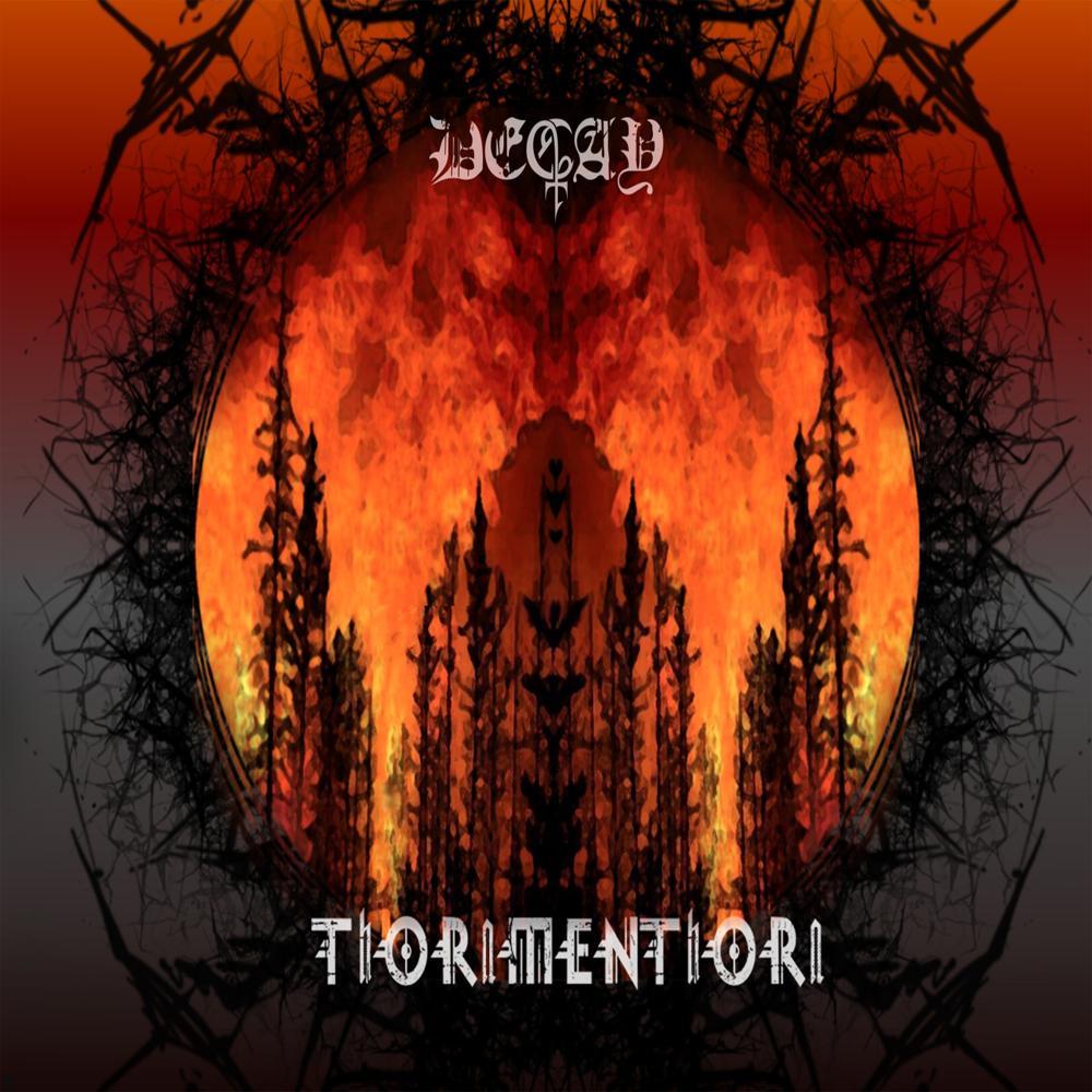 "Oradenii DECAY prezinta coperta albumului ""ThORnMENThORn"""