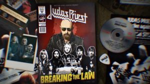 "Urmareste un nou lyric video pentru ""Breaking The Law"" - Judas Priest"