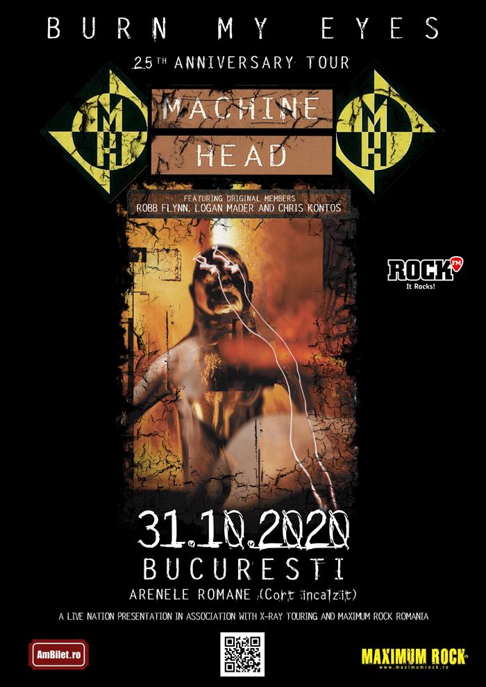 Noi amanunte despre concertul Machine Head de la Bucuresti