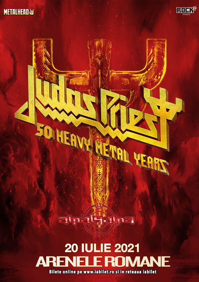 Concertul Judas Priest de la Bucuresti s-a reprogramat pentru 2021!