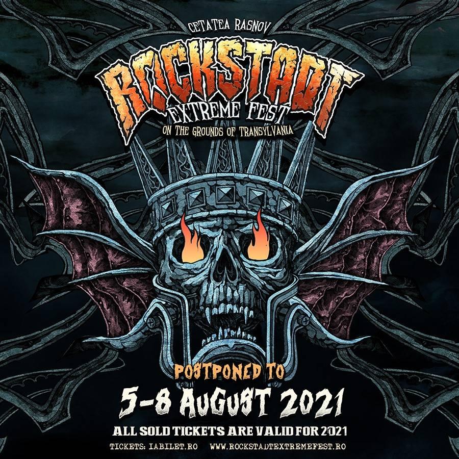 Rockstadt Extreme Fest 2020 se amina pentru 2021!