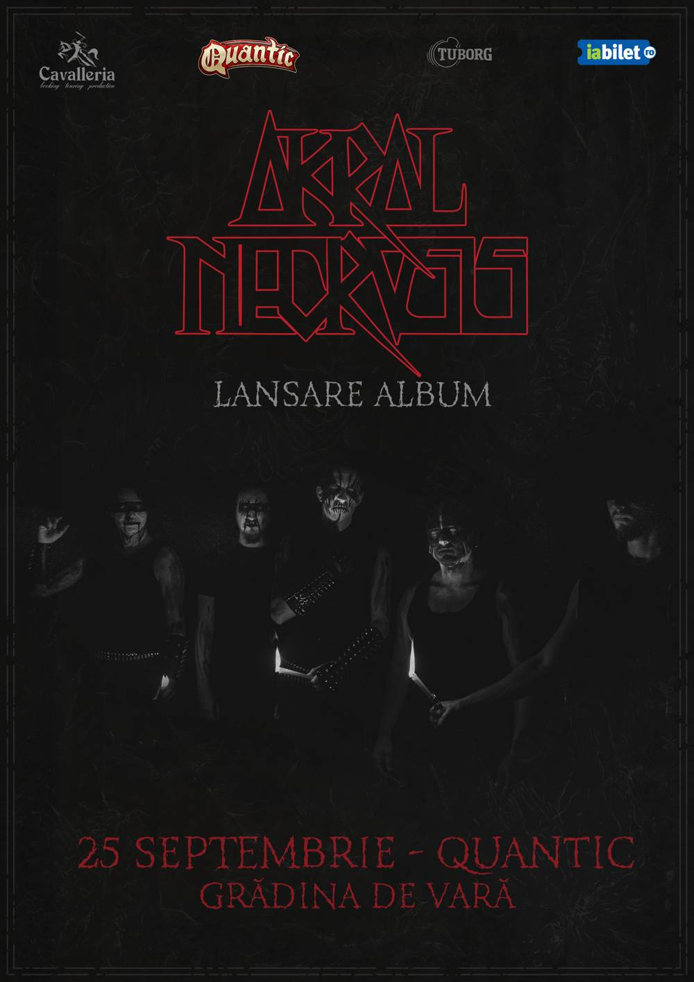 Lansare de album Akral Necrosis - 25 septembrie in Quantic Club