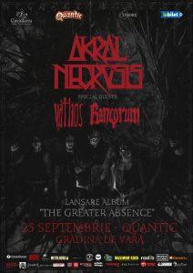Rancorum si Váthos, invitati speciali in concertul de lansare al noului album Akral Necrosis