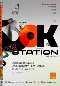 A cincea ediție DokStation Music Documentary Film Festival vine la București, între 17-20 septembrie