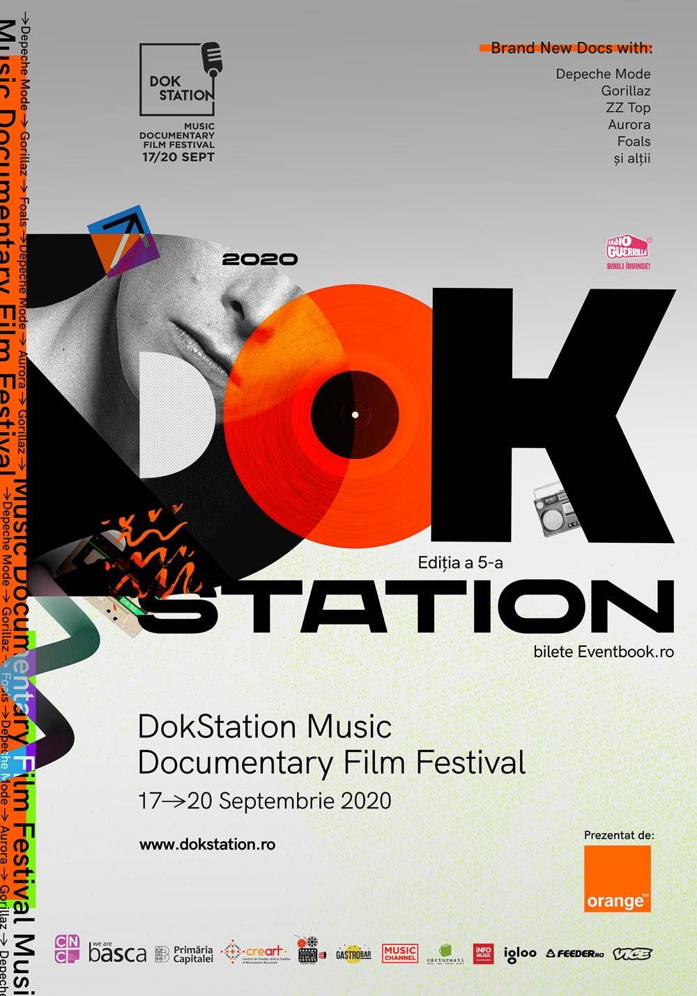 A cincea ediție DokStation Music Documentary Film Festival vine la București, între 17-20 septembrie