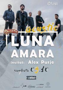 """LUNA AMARĂ - ACUSTIC, """"RELOADED"""" - la Club Quantic București"""