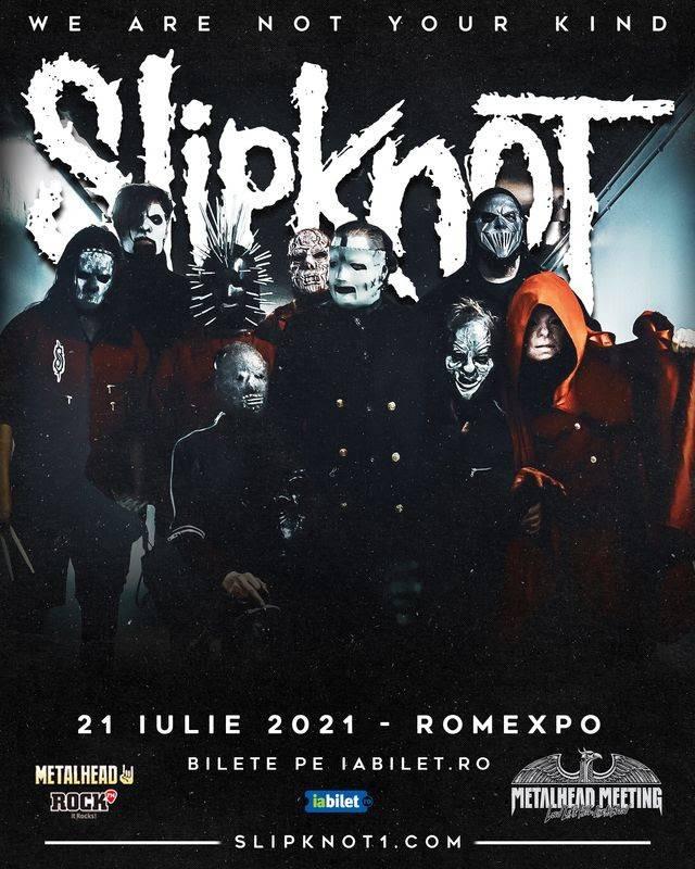 Concert Slipknot la Romexpo