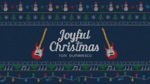 """Toni Dijmarescu a lansat un clip animat pentru piesa """"Joyful Christmas"""""""