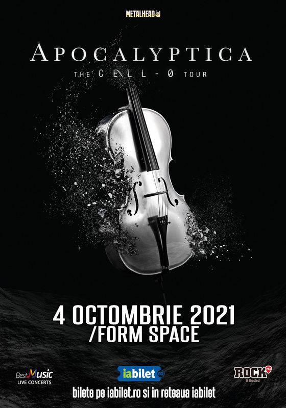 Apocalyptica in concert la Cluj-Napoca