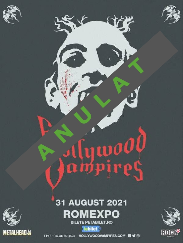 Concertul The Hollywood Vampires s-a anulat!