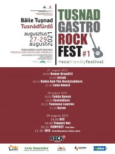 Tusnad Gastro Rock Fest - 27-29 august 2021
