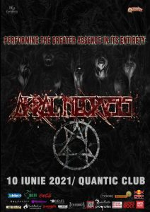 """Concert Akral Necrosis in Club Quantic. """"The Greater Absence"""", prezentat integral"""