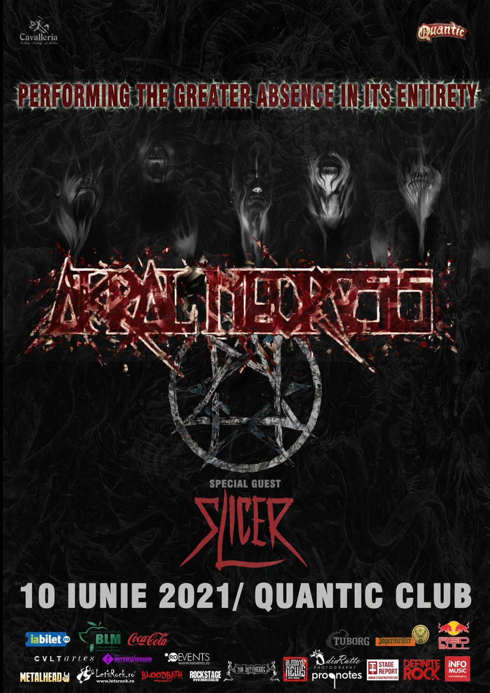 Slicer canta alaturi de Akral Necrosis pe 10 iunie in Quantic Club