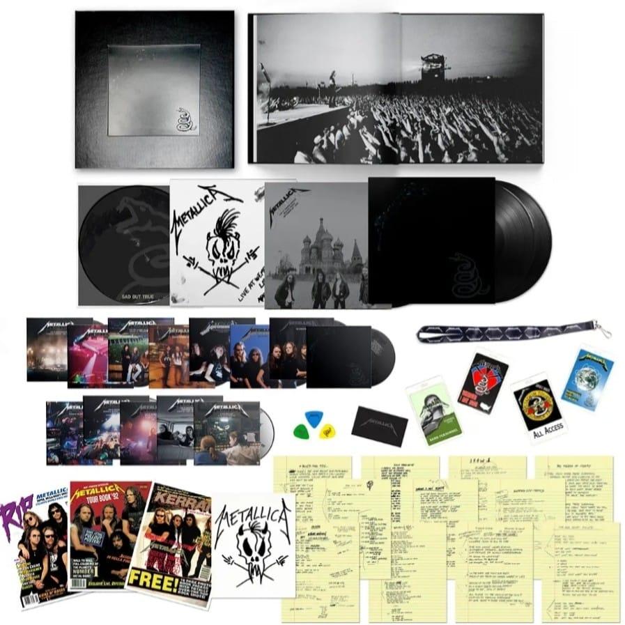 """Metallica va lansa varianta remasterizata a albumului """"The Black Album"""""""