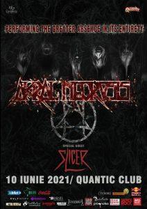 Program si reguli de acces pentru concertul Akral Necrosis din Quantic, 10 iunie