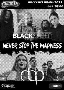BLACKSHEEP si MBP live la Quantic
