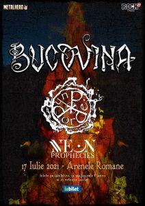 Neon Prophecies deschid concertul Bucovina si Dordeduh
