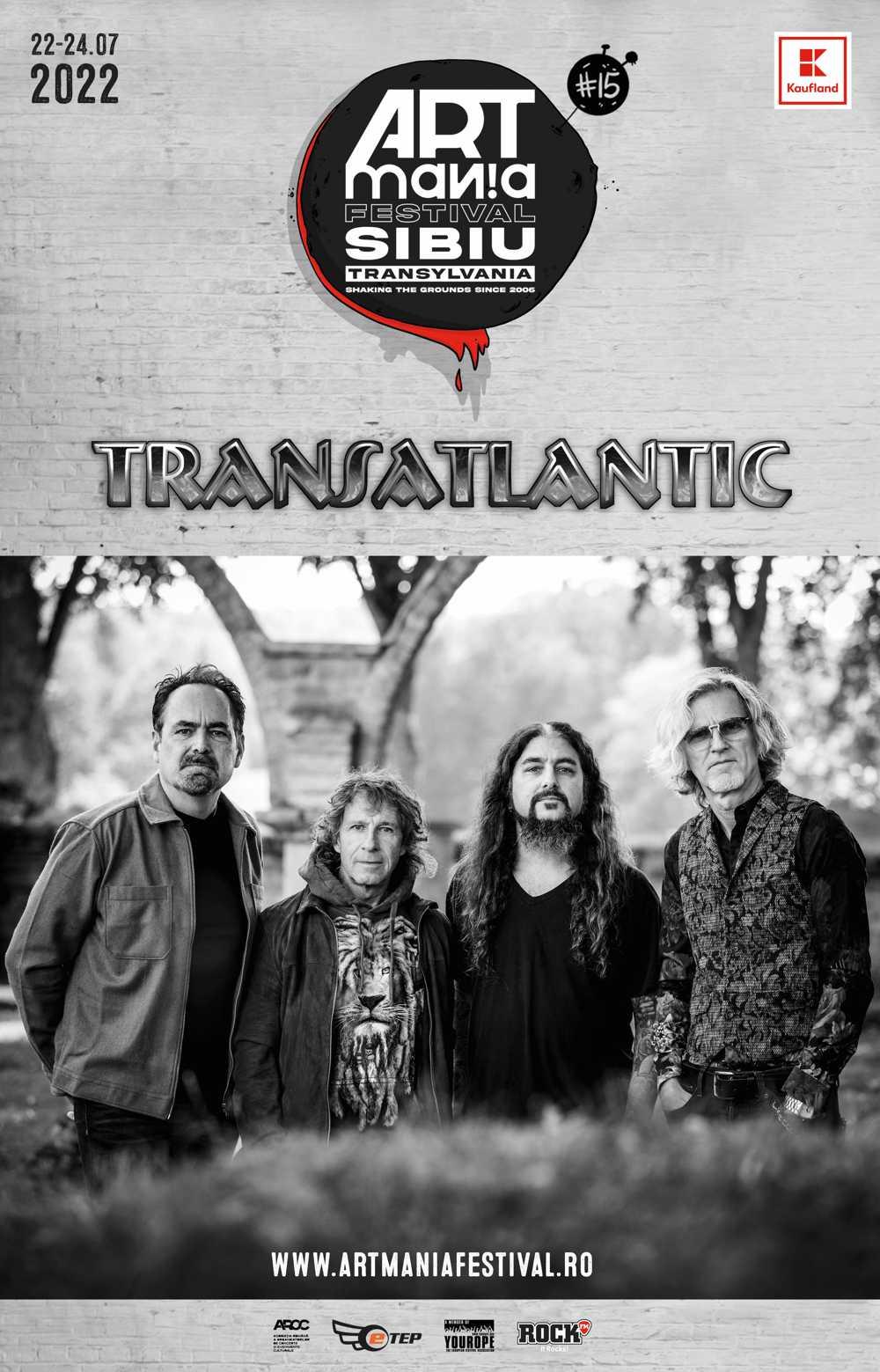 """Transatlantic, """"nava-mamă"""" a prog-rock-ului modern, aterizează la ARTmania Festival 2022"""