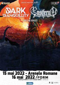 Dark Tranquillity si Ensiferum canta la Bucuresti si Cluj-Napoca in 2022