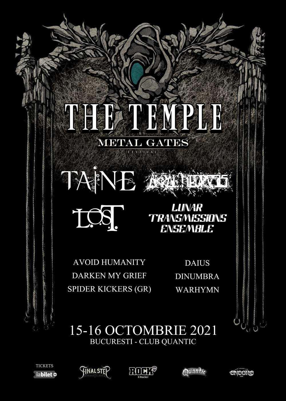 Metal Gates prezinta festivalul The Temple