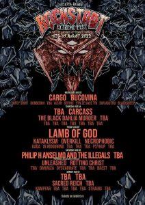 Rockstadt Extreme Fest 2022  va avea 5 zile de concerte!